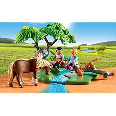 PLAYMOBIL Country Horseback Ride: Toys & Games