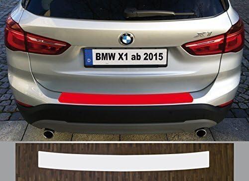 BMW X1 F48  Ladekantenschutz Lackschutzfolie Schwarz Matt Schutzfolie F 48 10001