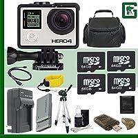 GoPro GoPro HERO4 Black Motorsports + 128GB Greens Camera Bundle 8