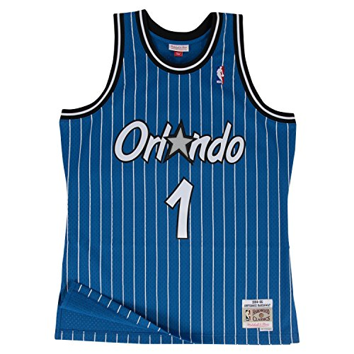 Mitchell & Ness Anfernee Hardaway Orlando Magic NBA Throwback Jersey - Blue