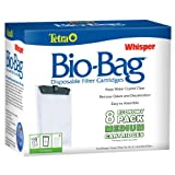 #8: Tetra 26352 Whisper Bio-Bag Cartridge, Unassembled, Medium, 8-Pack