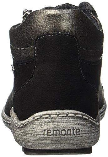 Remonte noir Dames Antique Chukka Noir Bottes Noir Argent R1483 drqxXaqTnZ