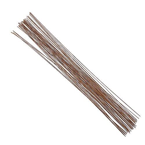 26 Gauge Wire >> Decora 20 Gauge Brown Floral Wire 16 inch,50/Package - Buy Online in UAE. | Office Product ...