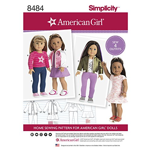 Simplicity Creative Patterns US8484OS Sewing Pattern Crafts