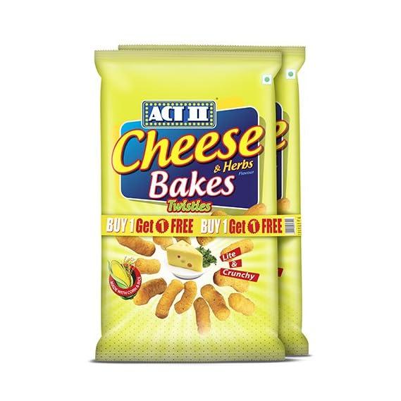ACT II Cheese Bakes Combo(Buy 1 Get 1 Free)