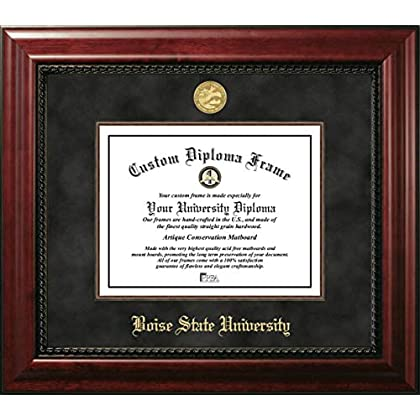 Image of Campus Images Boise State University 11 x 8.5 Inches Executive Diploma Frame Diploma Frames