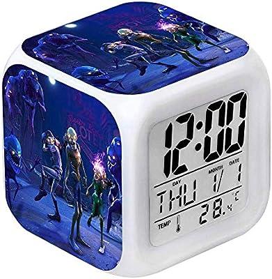 Amazon.com: BOLLAER Reloj despertador de juego infantil con ...