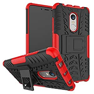 Stand Case for Xiaomi Redmi Note 4X Heavy Duty Shockproof Hard Back Cover Phone Cases with Kickstand