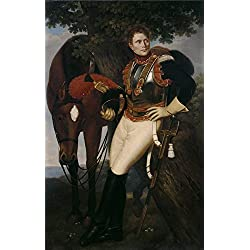Oil Painting 'Madrazo Y Agudo Jose De Coracero Frances Ca. 1813' 8 x 13 inch / 20 x 32 cm , on High Definition HD canvas prints is for Gifts And Bed Room, Kitchen And Powder Room Decoration