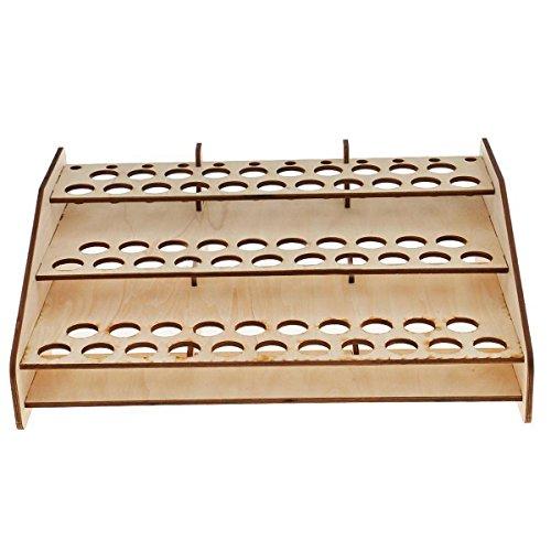 63 Pots Wooden Color Paints Bottle Storage Rack Holder Modular Organizer Stand (Wooden Pendant Lights For Sale)