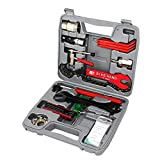Top Bicycle Bike Maintenance Repair Tool Set Kit with Compact Carry Box 26 Pieces