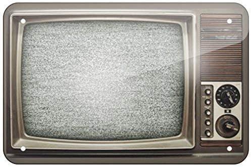 EpochSign Cartel metálico de Metal de los años 80, TV Televison, 8 x 12 Pulgadas: Amazon.es: Hogar