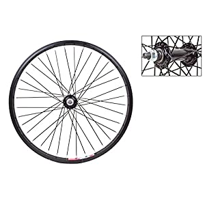 Wheel Master Front Bicycle Wheel 20 x 1.75 36H, Alloy, Bolt On, Black