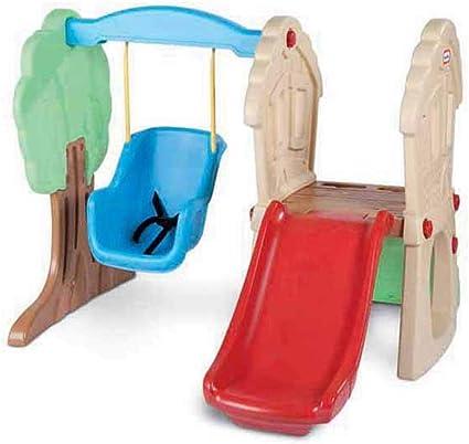 SCYTSD Diapositivas para Niños Centro De Juegos Inicio Escalada Al Aire Libre Columpios Juguetes para El Parque De Atracciones, Actividades En El Jardín para Niños Pequeños (1-4 Años): Amazon.es: Deportes y aire