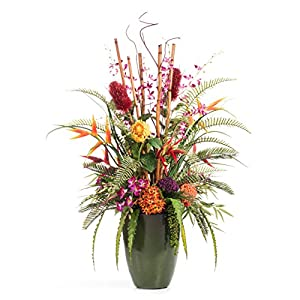 Petals Tropical Resort Artificial Flower Arrangement 43