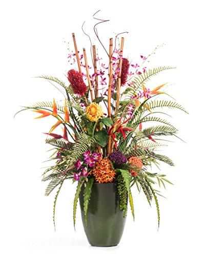 Petals Tropical Resort Artificial Flower Arrangement