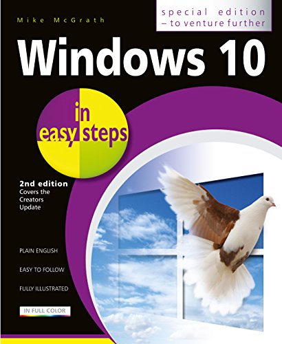 Windows 10 in easy steps - Special Edition, 2nd Edition: Covers the Creators Update PDF