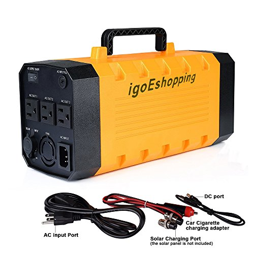 (Pure sine wave) igoeshopping Portable Uninterruptible power supply (UPS) & Power Backup with built-in 26A Lithium battery, Used in emergency outdoor indoor for USB DC AC devices by igoeshopping (Image #6)
