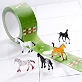My First Horse Show, Create a Horse Track Tape with Toy Horses Playset, 27 Yards X 2 Inch