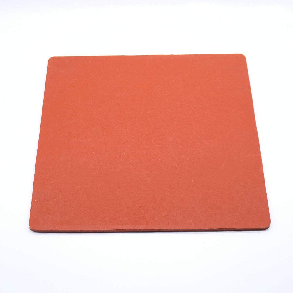 """.33 Red Silicone Heat Press Pad Mat Silicone Pad for Heat Transfer Machine Press Replacement Pad Soply 15 x 15/"""" Thickest"""