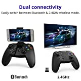 Wireless Game Controller, Tronsmart Mars G02 Bluetooth Gamepad & 2.4GHz Modes for Android Smartphone, Windows PC PlayStation 3, Android TV Box