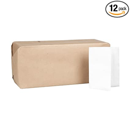 "Georgia-Pacific MorNap 37402 White Full Fold Dispenser Napkin, 17"" Length x 12"""