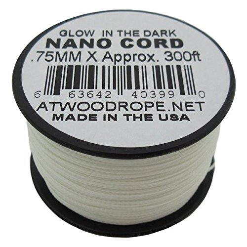 Atwood Rope MFG Glow-in-the-Dark NC300 .75mm x 300'