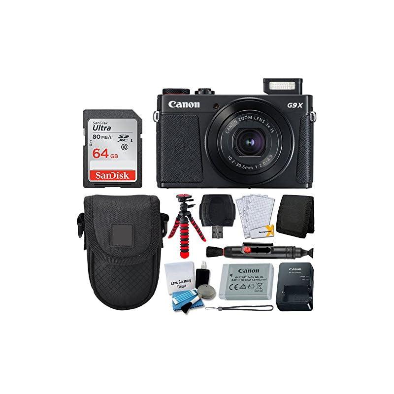 Canon PowerShot G9 X Mark II Digital Cam
