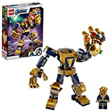 Toys : LEGO Marvel Avengers Thanos Mech 76141 Cool Action Building Toy for Kids with Mech Figure Thanos Minifigure, New 2020 (152 Pieces)