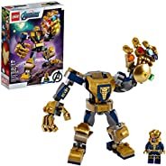 LEGO Marvel Avengers Thanos Mech 76141 Cool Action Building Toy for Kids with Mech Figure Thanos Minifigure, N