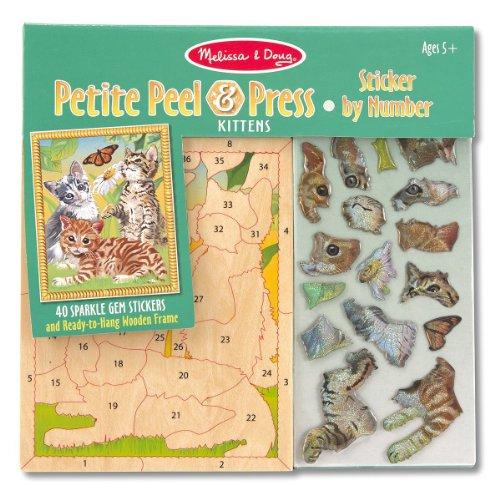Kittens Sticker Melissa Scratch Mini Pad