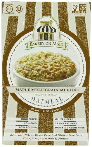 [Bakery On Main Instant Oatmeal, Maple Multigrain Muffin, 10.5-Ounce] (Oatmeal Muffin)