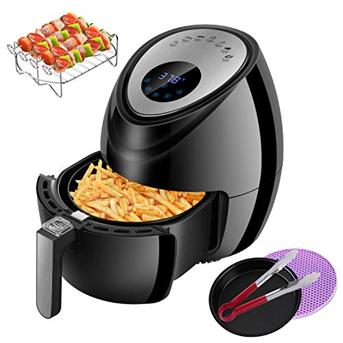 Keemo Air Fryer 3.7QT, 1500W