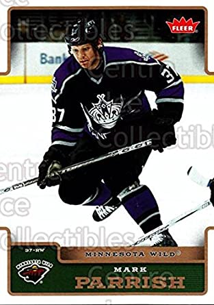 Amazoncom Ci Mark Parrish Hockey Card 2006 07 Fleer Base 101