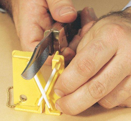 - Lansky BKEY30 Mini Crock Stick 30 in Bowl Pocket Sharpener
