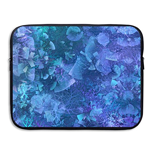 (Laptop Sleeve Bag Painted Background Texture Waterproof Computer Bag Zipper Notebook Case 15 Inch)