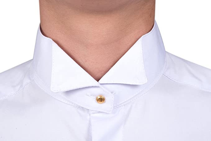 780c3ec028d Traditional White Court Tunic Shirt with Collars: Amazon.co.uk: Clothing