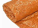 orange sewing fabric - BalsaCircle 54-Inch x 4 yards Orange Sequins Fabric by the Bolt - Sewing Craft Bridal Supplies