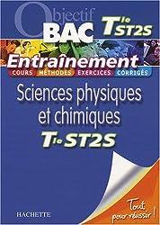 Entraînement Sciences physiques et chimiques Tle ST2S