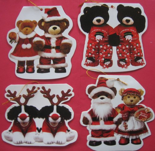 (Build-a-Bear Workshop Set of 12 Christmas Cards/Gift Tags)