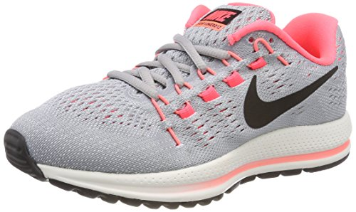 Wolf Damen Platinum Punch Grau hot Laufschuhe Black Wmns Air pure Zoom Vomero 12 Nike Grey W zAqdOZA8