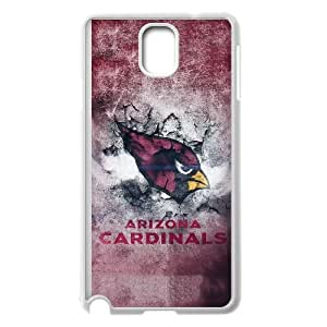 Arizona Cardinals Nota caja del teléfono celular 3 03 funda Samsung Galaxy blanco, funda Samsung Galaxy Note caja del teléfono celular blanco 3