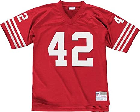 newest b91d3 c6af7 Amazon.com : Mitchell & Ness Ronnie Lott San Francisco 49ers ...