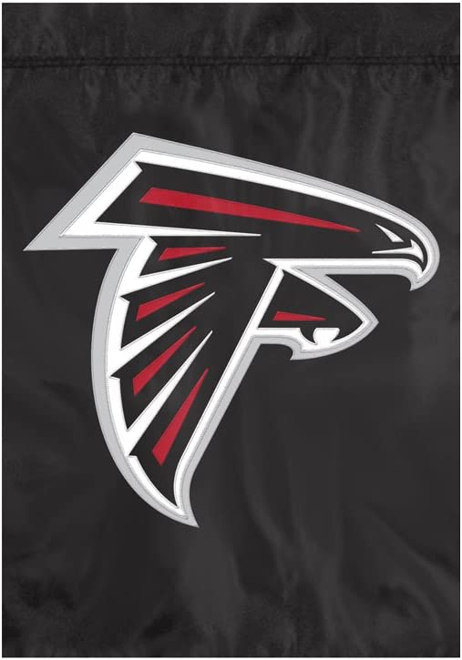 NFL Atlanta Falcons NFL Garden Flag, Black, 18