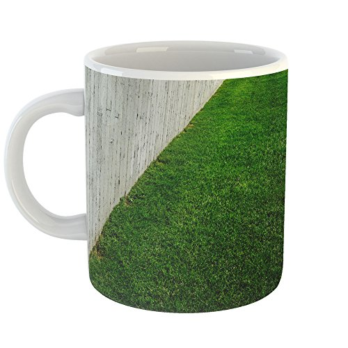 Westlake Art - Coffee Cup Mug - Green Grass - Modern Picture Photography Artwork Home Office Birthday Gift - 11oz (*9m-0c4-48e)