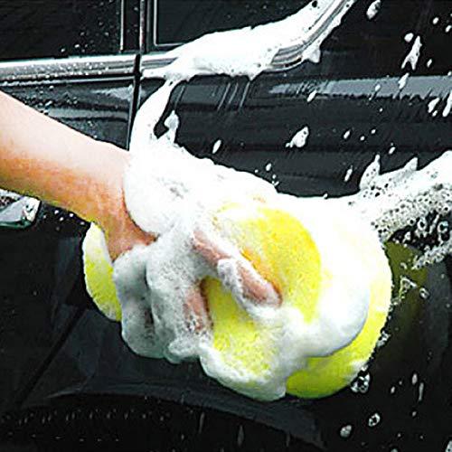 Liamostee 1 Pcs Car Auto Washing Sponge Large-Use Sponge Car Wash Kitchen Cleaning