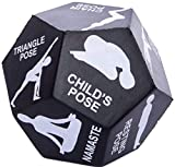 PROSPERITY DEVINE 12-Sided Yoga DICE 4IN. X 4IN, Create A Unique Yoga Routine Every TIME You HIT Your MAT, ROLL The DICE, Hold The Pose & Repeat!!.(WAAAAAY Cheaper Than Any Yoga Class!)