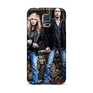 Phonecaseforall Samsung Galaxy S5 Bumper Mobile Cases Provide Private Custom Trendy Stryper Band Image [VZc13014Agoh]