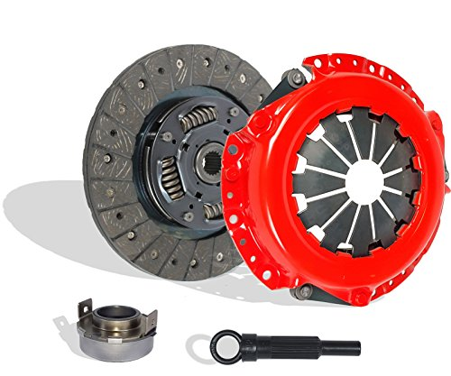 Clutch Kit Works With Mitsubishi Lancer Oz Rally ES SE LS Sedan 4-Door 2004-2006 2.0L l4 GAS SOHC Naturally Aspirated (Stage 1)