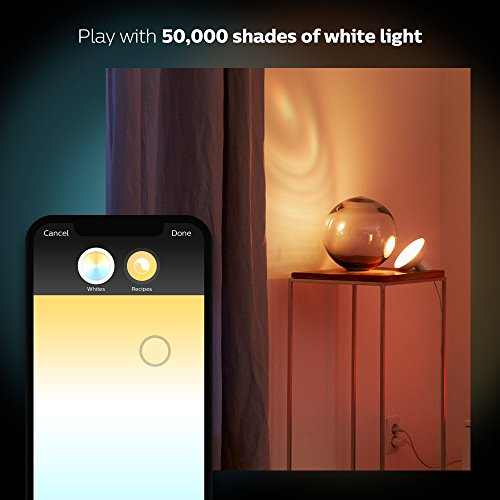 Philips Hue Bloom Dimmable LED Smart Table Lamp (Requires Hue Hub, Works with Amazon Alexa, Apple HomeKitand Google Assistant) by Philips LED (Image #6)